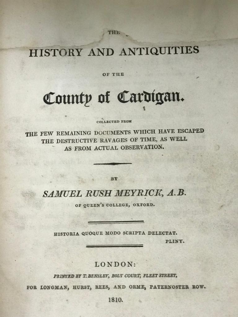 FINE ONE-OWNER COLLECTION OF MAINLY WALES/WELSH RELATED ANTIQUARIAN & HISTORICAL BOOKS - Image 10 of 13