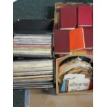 VINTAGE LPs, GRAMOPHONE RECORDS & BOOKS - LPs include Orchestral, Welsh and some individual