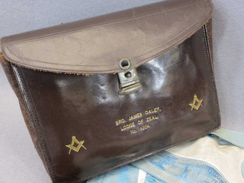 MASONIC MEMORABILIA - including sterling and hallmarked jewels, the largest marked 'Sterling', - Image 3 of 3