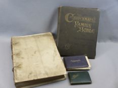 BOOKS & AUTOGRAPH ALBUMS, 4 ITEMS - The Illustrated Times Volume 1 June to December 1855, no outer