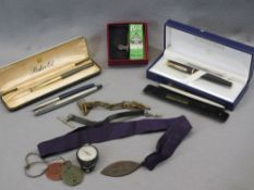 MIXED COLLECTABLES to include 1650103 G E Williams Dog Tags, Victorian St Mary's Guild for Men
