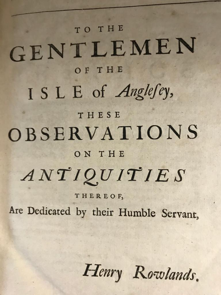 FINE ONE-OWNER COLLECTION OF MAINLY WALES/WELSH RELATED ANTIQUARIAN & HISTORICAL BOOKS - Image 12 of 13