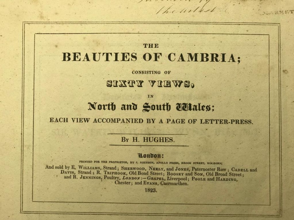 FINE ONE-OWNER COLLECTION OF MAINLY WALES/WELSH RELATED ANTIQUARIAN & HISTORICAL BOOKS - Image 4 of 13