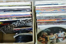 VINTAGE LPs & 45 RPM RECORDS, Artists include Fleetwood Mac, Meatloaf, Compilation, Def Leppard,