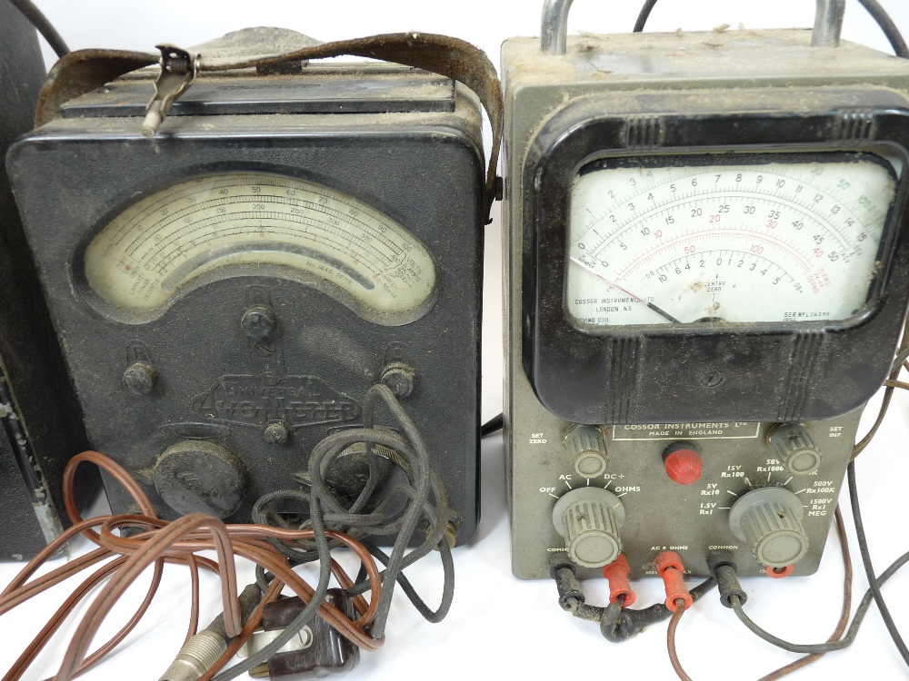 VINTAGE ELECTRONICS, A MIXED QUANTITY - a Grundig tape recorder, boxed Nombrex signal generator, AVO - Image 4 of 4