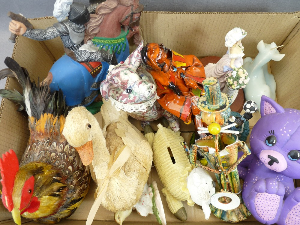 FANTASY DRAGON & FAIRY FIGURINES, decorative animals and birds, a mixed collection (in 3 boxes) - Image 5 of 6