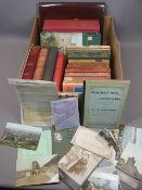 BOOKS & EPHEMERA - mostly relating to travel in Wales including Ward, Lock & Co illustrated