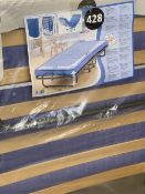 'AS NEW' STILL PACKAGED FOLDING GUEST BED WITH PROTECTIVE COVER