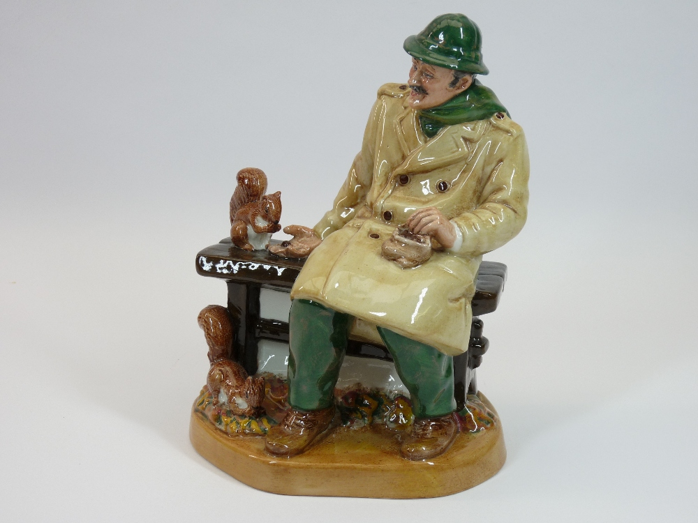 ROYAL DOULTON FIGURE - Lunchtime HN2485 - Image 2 of 3