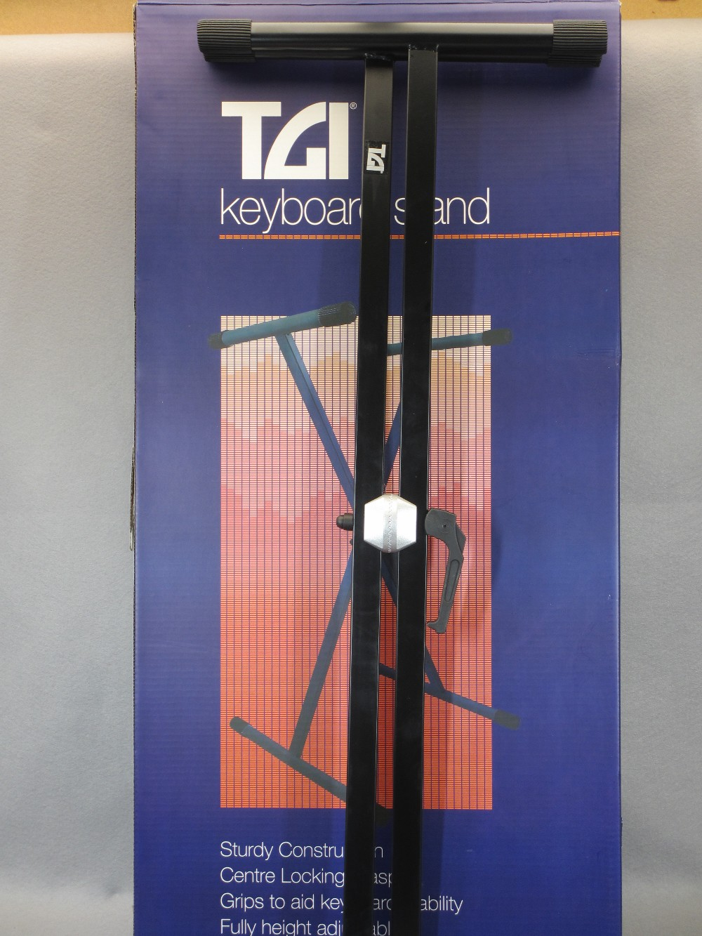 MUSIC SHOP STOCK - boxed and loose keyboard stands (2), canvas keyboard bag and three Stagg banjo - Image 2 of 5