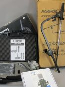 *MUSIC SHOP STOCK BOXED KAM PROFESSIONAL WIRELESS SINGLE MICROPHONE KWM1935, boxed Stagg USB