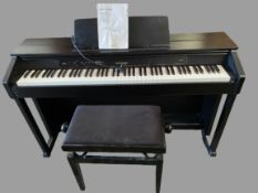 CASIO CELVIANO PIANO - model no. AP450 with modern rise and fall stool