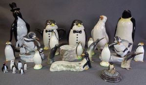 PENGUIN THEMED ORNAMENTS, a good collection