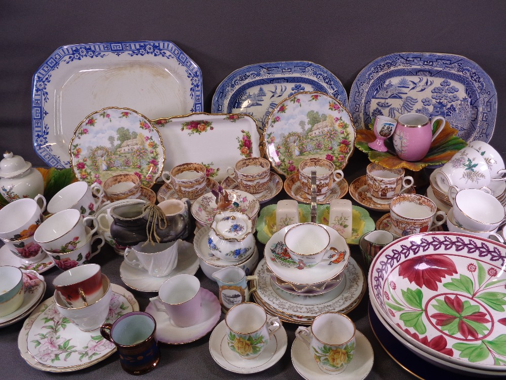 TEAWARE, an assortment - Gainsborough, Duchess, Royal Vale, other Staffordshire ETC