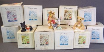 ROYAL DOULTON 'Jane Hissey's Old Bear & Friends' boxed models, approximately fifteen