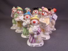 BESWICK 'LITTLE LOVABLES' ten figurines - 11.5cms H the tallest
