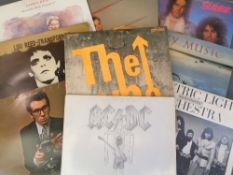 LP RECORDS - approximately sixty including The Who, T-Rex, ACDC, Slade, Mike Oldfield, ELO, Elvis