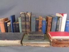 BOOKS - two boxes of vintage including volumes 'Gwyddoniadur Cymreig' ETC