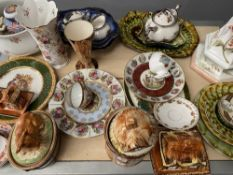PORTHMADOG POTTERY, Price teaset and cottage ware and a large assortment of other decorative china