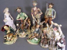 CAPODIMONTE and similar typical figures, Leonardo Collection figure ETC