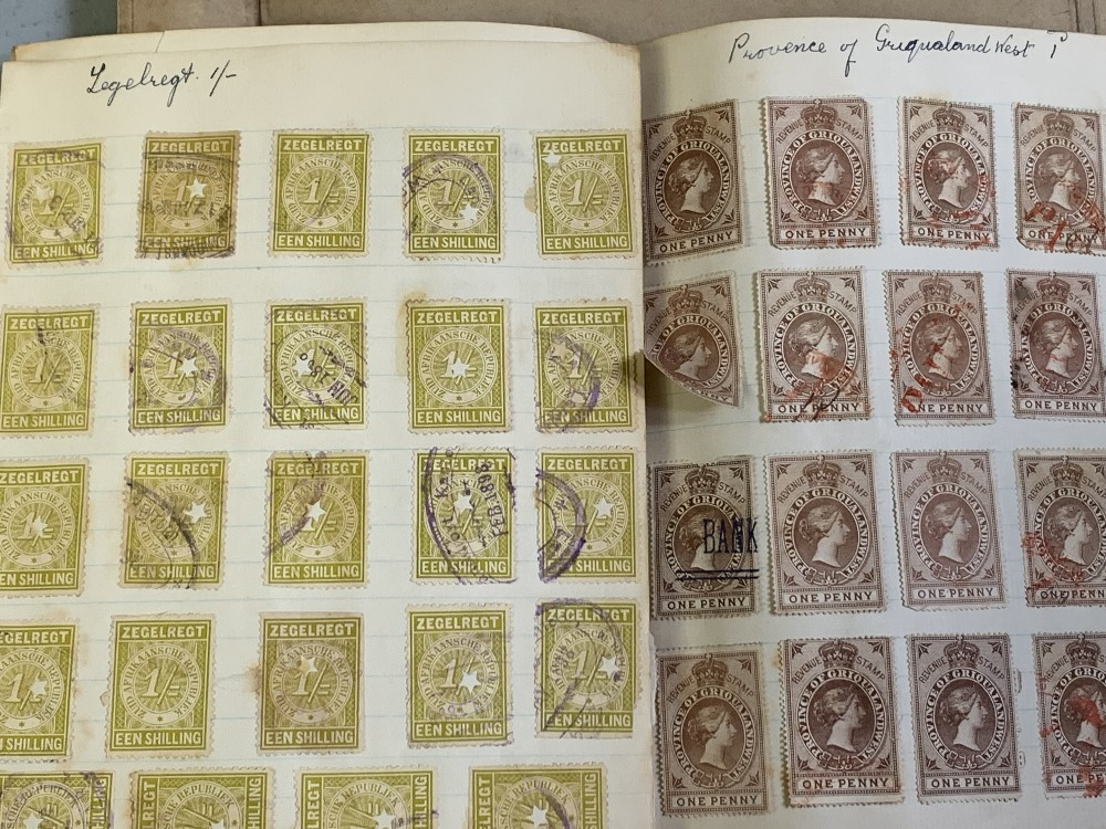 STAMPS - Cape of Good Hope, Zegelregt, Province of Griqualand West, Orange Free State also British - Image 3 of 8