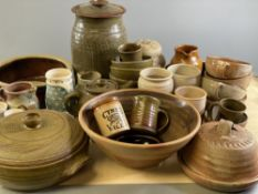 POTTERY - Studio Art and tableware, very large assortment