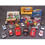 CORGI & OTHER DIECAST VEHICLES including Matchbox ETC (some boxed, approximately thirty)