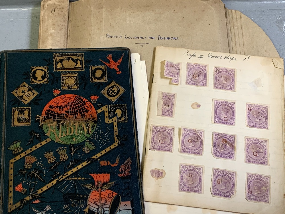 STAMPS - Cape of Good Hope, Zegelregt, Province of Griqualand West, Orange Free State also British