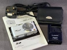CAMERA - Panasonic Lumix DMC-FX01 with battery and charger