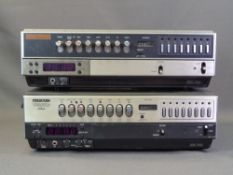 VINTAGE HOME ENTERTAINMENT EQUIPMENT - Ferguson Videostar toploading VHS player and another
