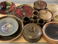 POTTERY - Studio Art and tableware, an assortment