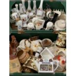 WADE - Tetley Tea mugs and an assortment of other including decanters, teapots, lustre ware ETC,