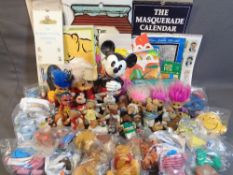 ORNAMENTAL MODELS OF CARTOON/DISNEY CHARACTERS - Mickey Mouse, The Wombles, Snow White & The Seven