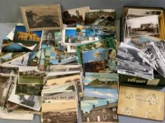 POSTCARDS - vintage collection, approximately 150