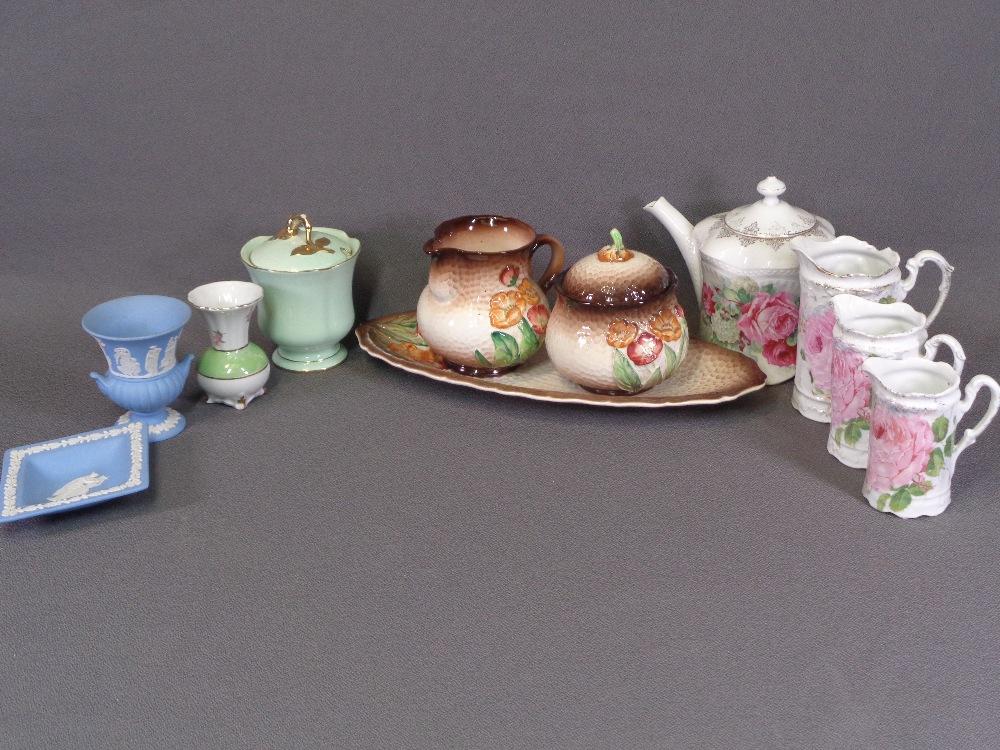 CABINET CHINA including graduated jugs, Carltonware, Royal Winton, Jasperware ETC