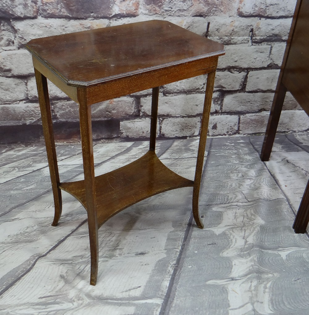 ASSORTED OCCASIONAL FURNITURE, comprising dressing table with four drawers (mirror back missing), - Image 3 of 6