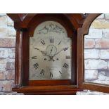 GEORGE III DEVONSHIRE 8-DAY MAHOGANY LONGCASE CLOCK, Bery'n Nicholson, Plymouth,12-inch signed