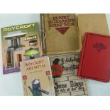 ASSORTED AMERICAN ARTS & CRAFTS REFERENCE BOOKS including volumes relating to Roycroft Furniture,