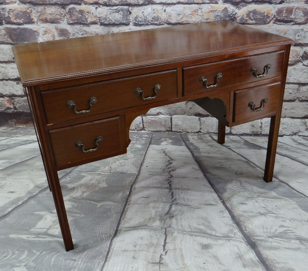 ASSORTED OCCASIONAL FURNITURE, comprising dressing table with four drawers (mirror back missing), - Image 5 of 6