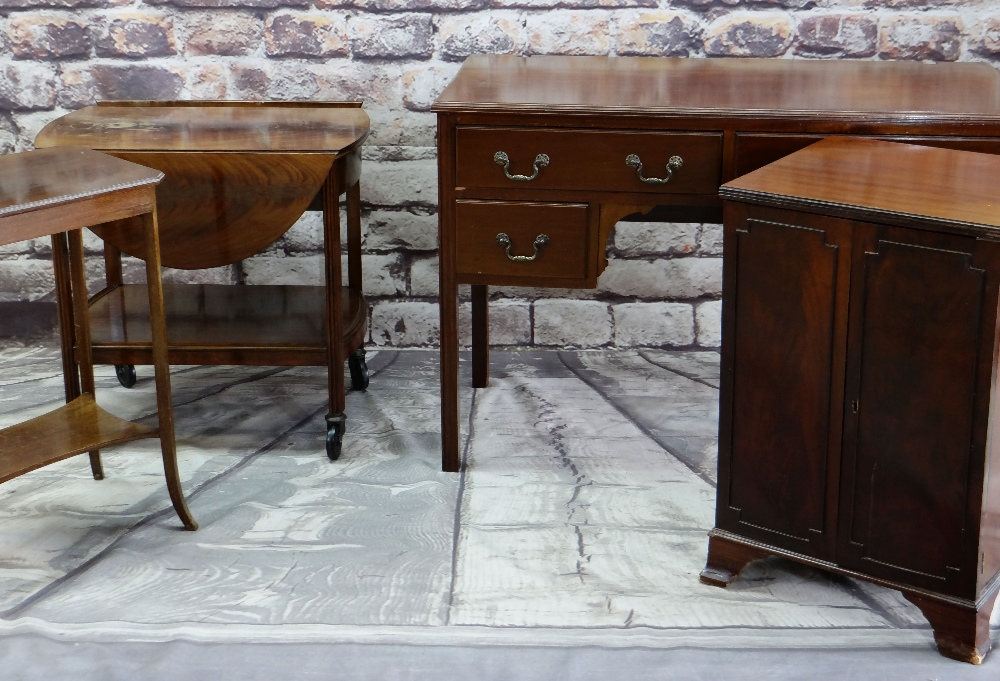 ASSORTED OCCASIONAL FURNITURE, comprising dressing table with four drawers (mirror back missing),