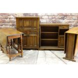"""ASSORTED OCCASIONAL FURNITURE including two """"Old Charm"""" cocktail cabinet and bookcase, together with"""