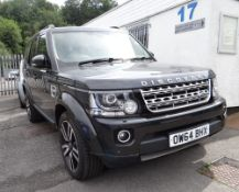 2015 LAND ROVER DISCOVERY HSE LUXURY SDV6, registration OW64 BHX, 50,043 miles, first registered Jan