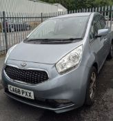 VERY LOW MILEAGE 2018 KIA VENGA HATCHBACK, registration CA68 PXX, only 774 miles, 1.6 ltr automatic,