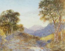 ALAN STEPNEY GULSTON watercolour - landscape, signed, 22 x 27cms Provenance: Sotheby's 15th