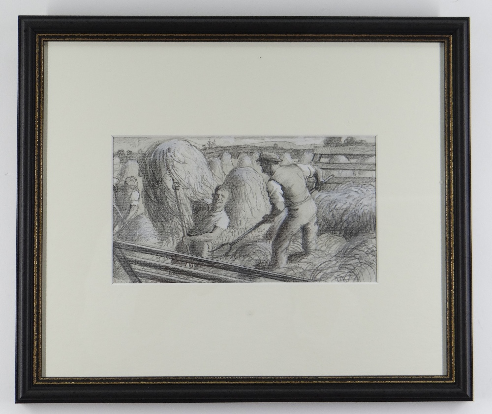 CHARLES FREDERICK TUNNICLIFFE OBE RA (1901-1979) pencil and tint - five illustrations of mid 20th - Image 9 of 11