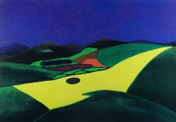 STAN ROSENTHAL limited edition (95/250) print & accompanying sculpture - entitled 'Storm over the