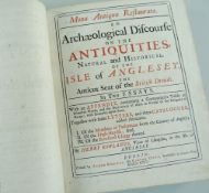 HENRY ROWLANDS' MONA ANTIQUA RESTAURATA 'An Archaeological Discourse on the Antiquities Natural
