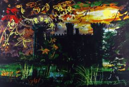 JOHN PIPER limited edition (62/70) lithograph - entitled verso on Attic Gallery Swansea 'Eastnor