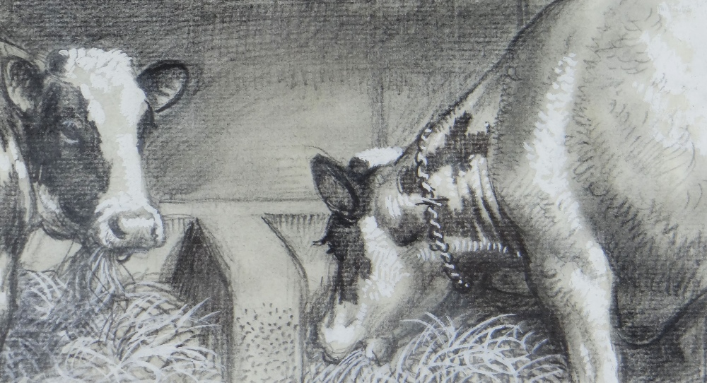 CHARLES FREDERICK TUNNICLIFFE OBE RA (1901-1979) pencil and tint - five illustrations of mid 20th - Image 10 of 11