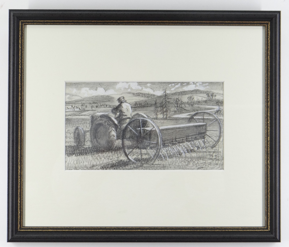 CHARLES FREDERICK TUNNICLIFFE OBE RA (1901-1979) pencil and tint - five illustrations of mid 20th - Image 3 of 11